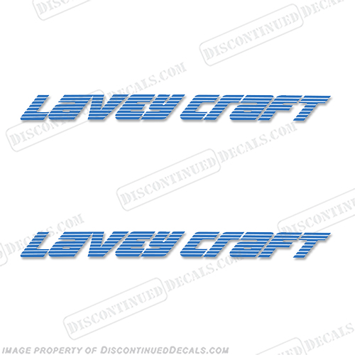 Lavey Craft Trailer Decals - (Set of 2) - Any Color! laveycraft, lavey-craft