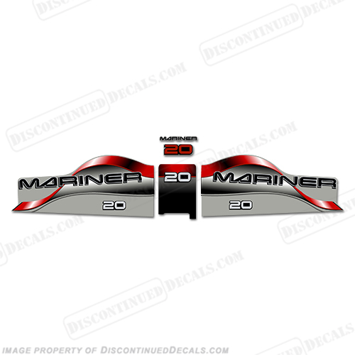 Mariner 20 Decal Kit - Red