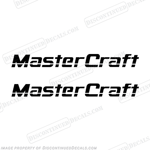 MasterCraft Boat Decals - Style 2 (Set of 2) Any color! Master, Craft, 1990s, 1980s, 1980s, 1990s, 90, 80, 90s, 80s, 90s, 80s,