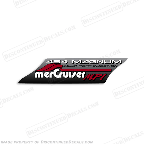 Mercruiser 454 Decal