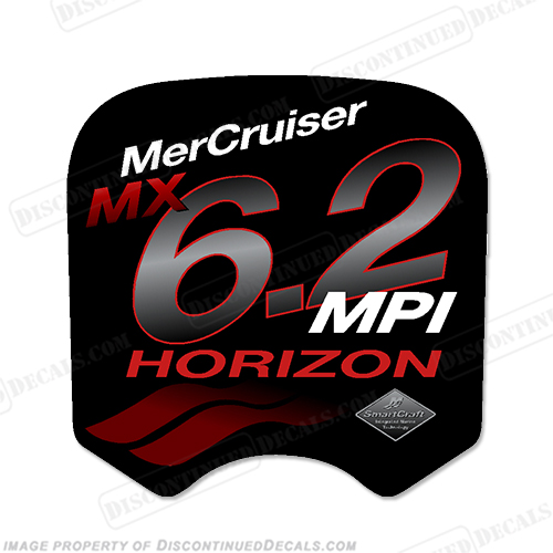 Mercruiser MX 6.2 MPi Horizon Decal