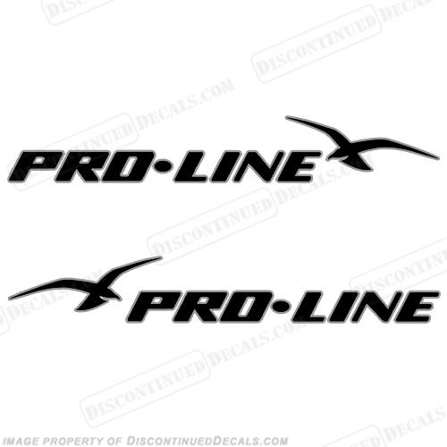 "PRO LINE PROLINE BOAT TRUCK LOGO STICKER DECAL 8/"""