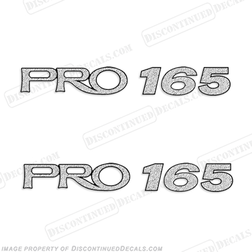 "ProCraft ""Pro 165"" Decals - Set of 2  procraft, pro-craft, 165, pro, pro165, craft"