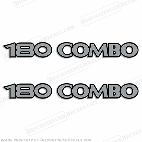 180 Combo Logo Decal - Set of 2