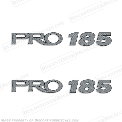 ProCraft Pro 185 Decals - Set of 2 procraft, pro-craft
