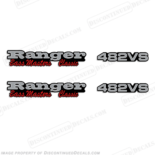 Ranger 482VS Bass Masters Classic Decals