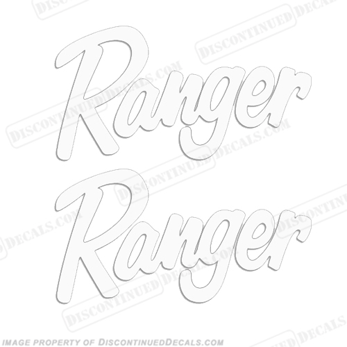 Tracker Windshield Decal - Solid White