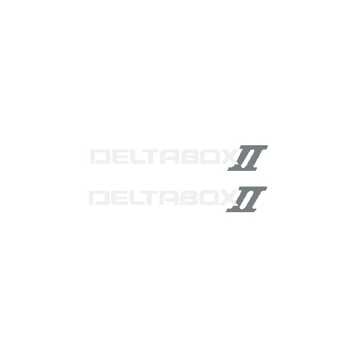 "R6 ""DeltaboxII"" Decals (Set of two)"