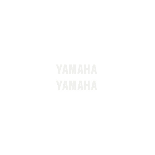 "R6 Small ""Yamaha"" Upper/Rear Fairing Decals (Set of 2)"