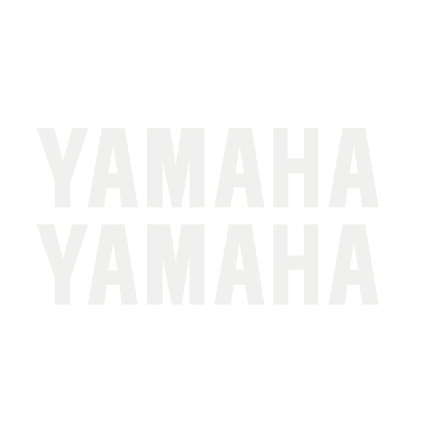 "R6 Lower fairing ""YAMAHA"" Decals (Set of 2)"