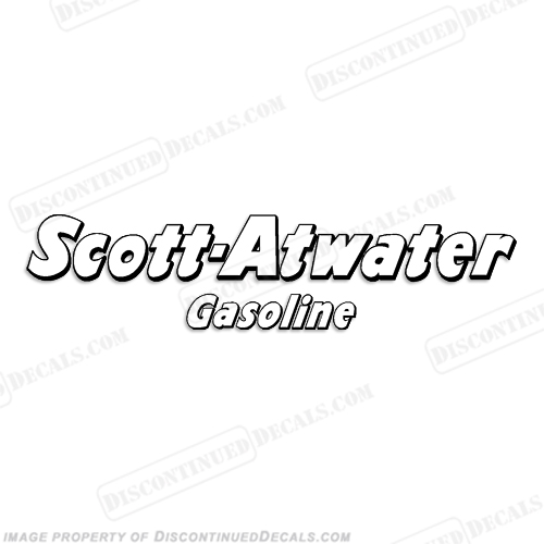 Scott Atwater Gasoline Decal