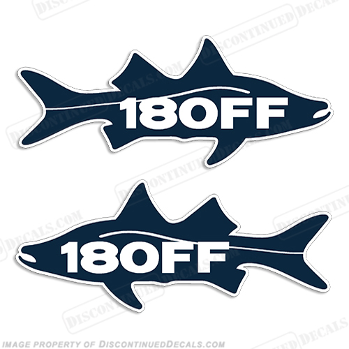 Sea Fox 180FF Decals