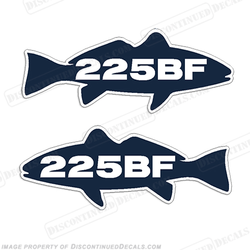 Sea Fox 225BF Decals