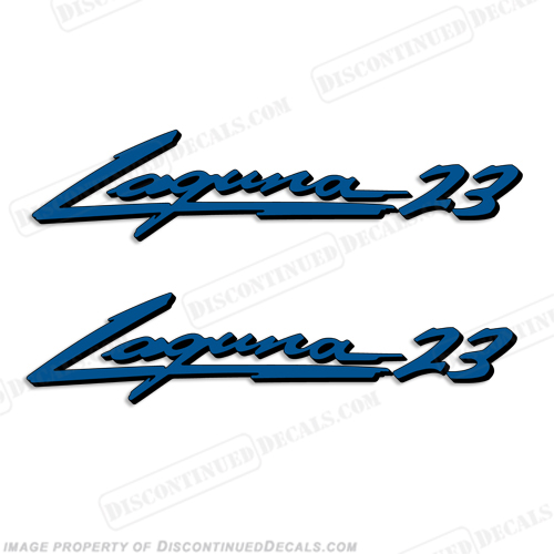 "Sea Ray ""Laguna 23"" Boat Decals - 2 Color!"