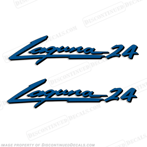 "Sea Ray ""Laguna 24"" Boat Decals - 2 Color!"