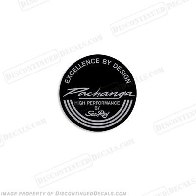 "Sea Ray Pachanga ""Excellence by Design"" Boat Decals high performance"