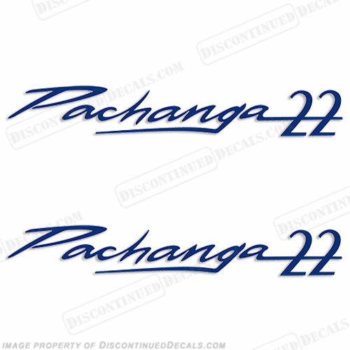 "Sea Ray ""Pachanga 22"" Boat Decals"