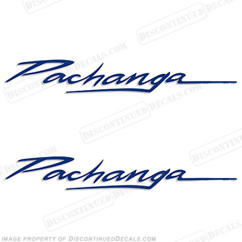 "Sea Ray ""Pachanga"" Boat Decals"