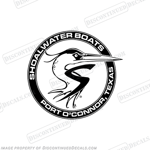 Shoalwater Circle Boat Logo Decal