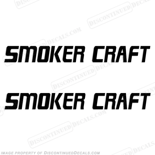 Smoker Craft Boat Logo Decals (Set of 2)