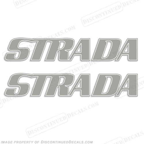 Strada Boat Logo Decals - Any Color!