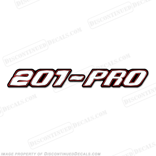 "Stratos ""201-PRO"" Decal"