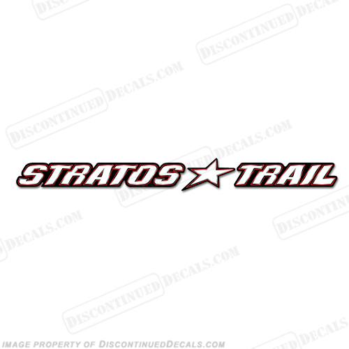 Stratos Trail Logo Decal - 24""