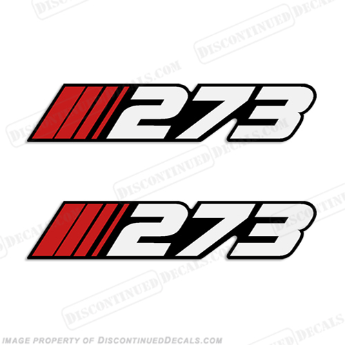 "Stratos ""273"" Decal (Set of 2)"