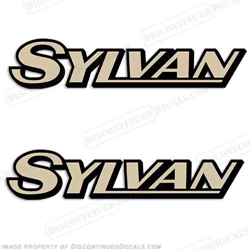 Sylvan Boat Logo Decals (Set of 2) - Any Colors!