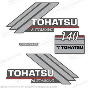 Tohatsu 140hp Automixing Decal Kit