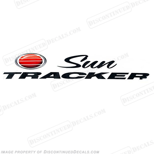 "Sun Tracker Boat Decal - 27"" long or 41"" Long"