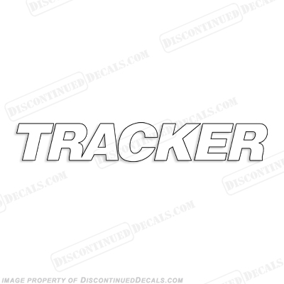 Tracker Boat Windshield Decal - Any Color!