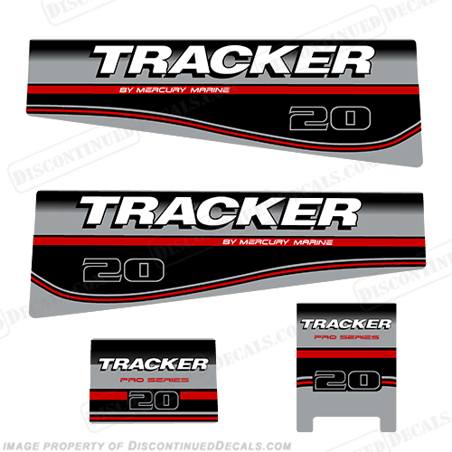 Tracker 20hp Engine Decal kit