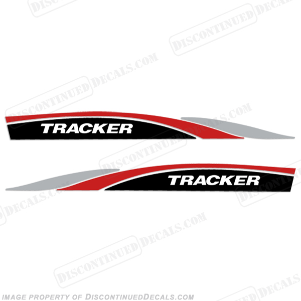 Tracker Marine Boat Decals for Deep V Hulls