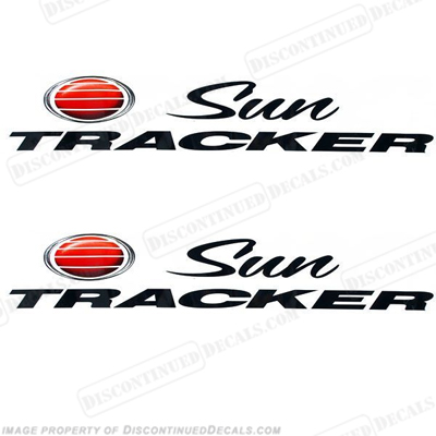 "Sun Tracker Boat Decals (Set of 2) - 27"" Long"