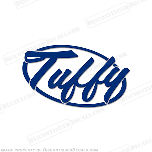 Tuffy Boats Logo Decal - Any Color!