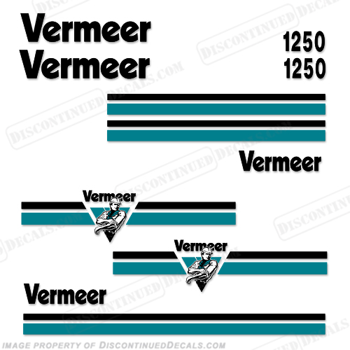 Vermeer BC1250 Brush Chipper Decals